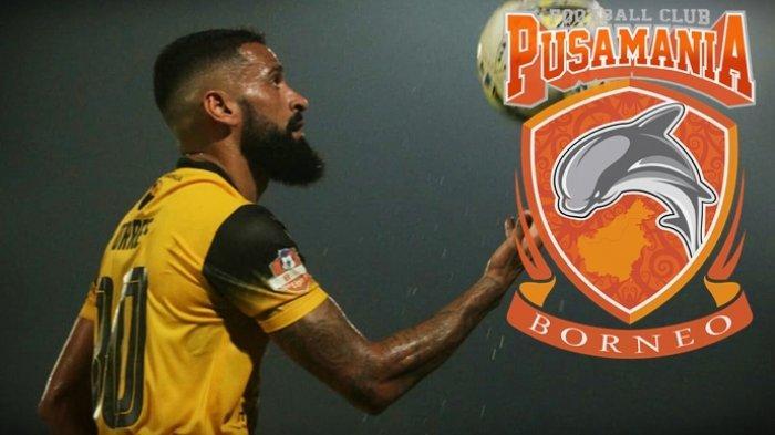 Ezechiel NDouassel Batal, Borneo FC Dapatkan Francisco Torres dan Pertahankan Bek Incaran Arema FC