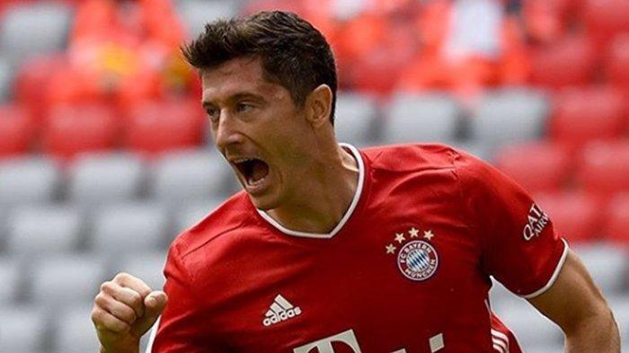 Meski Sudah Juara Bundesliga, Bayern Muenchen tak Beri Ampun Lawannya, Robert Lewandowski Menggila