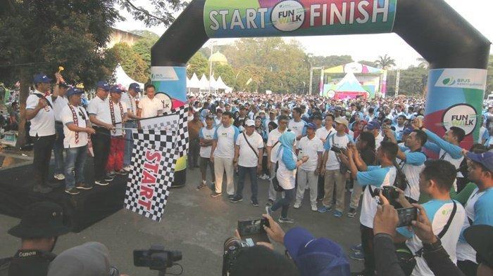 Funwalk Diikuti Ribuan Peserta di Samarinda, Bukti Pelayanan BPJS Ketenagakerjaan ke Masyarakat