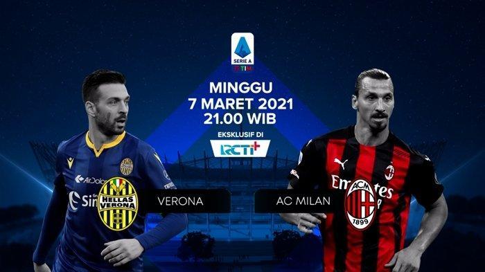 Prediksi, Line Up & Jadwal Tayang Liga Italia, Verona vs AC Milan, Rossoneri Berharap Penalti Lagi