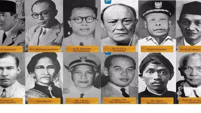 Hari Pahlawan, 6 Sosok Pahlawan Nasional Baru, Belum ada Asal Kalimantan Timur, Calon Ibu Kota Baru