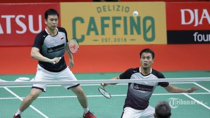Live Streaming Bulutangkis Olimpiade Tokyo, Head to Head Ahsan/Hendra vs Aaron Chia/Soh Wooi Yik