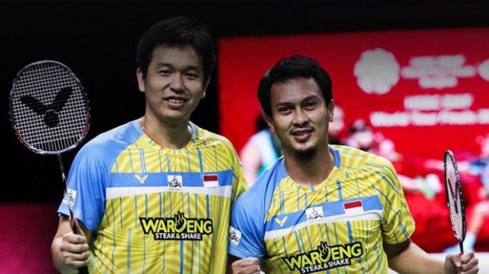 Hasil BWF World Tour Finals, Putus Tren Kekalahan dari Pasangan Korsel, Ahsan/Hendra Tembus Final