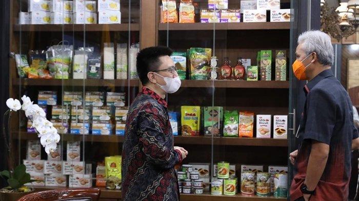 Gubernur Jawa Tengah Ganjar Pranowo Ajak Shopee, Tingkatkan Kapasitas Penjualan UMKM di Desa