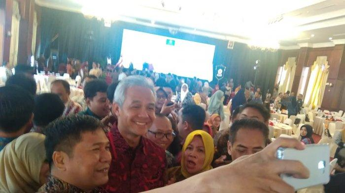 Ganjar Pranowo Titip Pesan Kepada Anggota Kagama, Hingga Singgung soal Regulasi Tambang Batu Bara