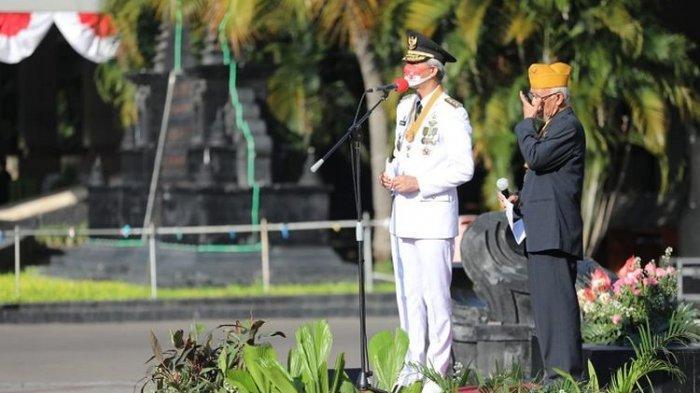 Tiba-Tiba Diminta Ganjar Pranowo Naik Podium Inspektur Upacara, Veteran Ini Prihatin Lihat Indonesia