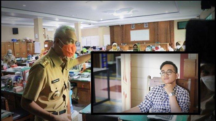 Guru SMA di Solo Kena Prank Ganjar Pranowo, Terciduk tak Pakai Masker, Respon Gibran: Catat Namanya