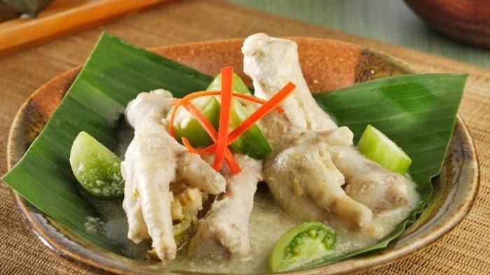 Resep Garang Asem Ceker Enak dan Segar, Menu Makan Siang dengan Sensasi Rasa Pedas dan Asam