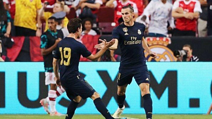 CUPLIKAN GOL, Gareth Bale Masuk, Real Madrid Samakan Kedudukan 2-2