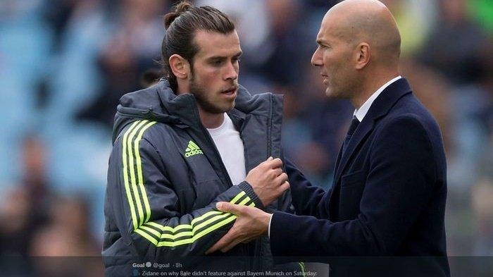 Eden Hazard Cedera, Zinedine Zidane Terpaksa Rujuk dengan Gareth Bale