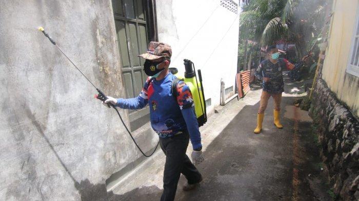 Relawan Garuda Balikpapan Lakukan Penyemprotan Disinfektan, Sasar 5 Tempat Sekaligus