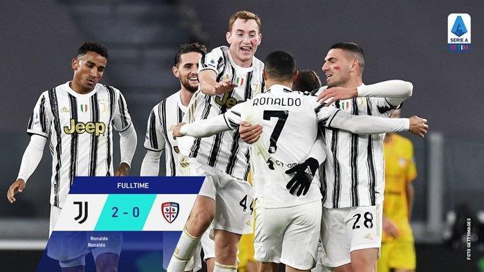 Hasil dan Klasemen Sementara Liga Italia 2020, Juventus Pepet AC Milan, Lazio Tuai Hasil Positif