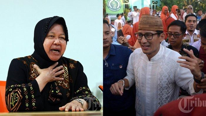 Akhirnya Prabowo Disaingi Sandiaga Uno dan Risma, Hasil Lengkap Survei LSI Kepuasan Menteri Jokowi
