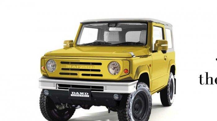 Mengintip Keunikan Suzuki Jimny ala Tahun 1960, Hanya Sampai 12 Januari, Mirip Mobil Land Rover
