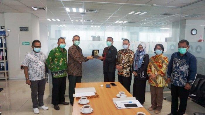Pjs Bupati Temui BNPB di Jakarta Percepat Pembentukan Badan Penanggulangan Bencana Daerah Mahulu