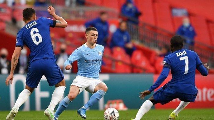 BERLANGSUNG Live Streaming Liga Inggris, Manchester City vs Chelsea, Link Live Streaming Mola TV