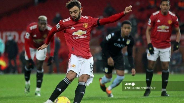 Update Liga Inggris, Live Streaming Manchester City vs Manchester United, Tergantung Bruno Fernandes