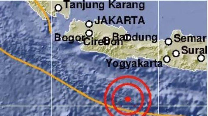 Gempa Hari Ini: M 5,9 Pangandaran Terasa Hingga Solo, Tidak Berpotensi Tsunami, Begini Analisisnya