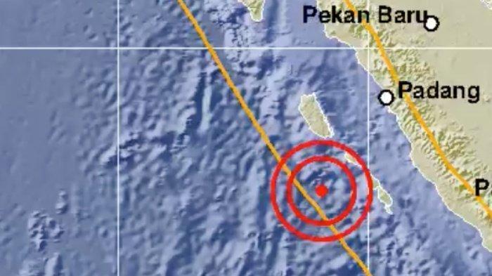 Gempa Hari Ini Guncang Tua Pejat, Magnitudo 6,3, Getaran Dirasakan hingga Padang, Solok, Bukittinggi