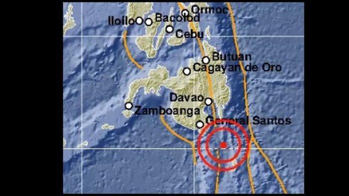 BMKG: Gempa Terkini 5,6 SR Guncang Sulawesi Utara ( Sulut) Tidak Berpotensi Tsunami