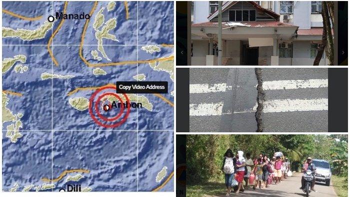 Gempa Ambon Buat Bangunan Rusak Berat dan Warga Panik, 1 Orang Meninggal saat Selamatkan Diri