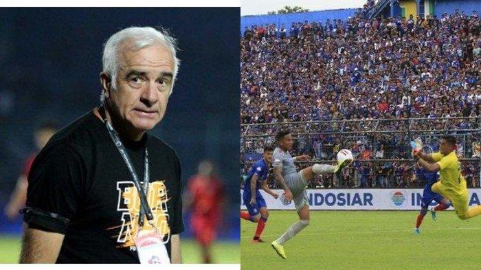 Aremania Geram Pada Wasit & Sindir Mario Gomez, Pelatih Arema FC Minta Maaf Keok dari Persib Bandung