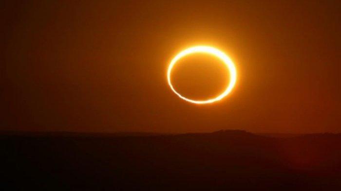 Waktu & Daftar Daerah Dilalui Gerhana Matahari Cincin Minggu 21 Juni 2020, Ini Cara Aman Melihatnya