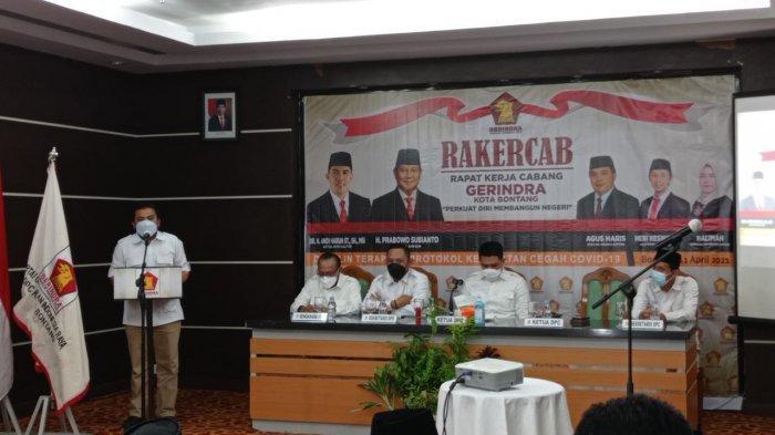 Rakercab DPC Gerindra Bontang, Andi Harun Beri Tugas Berat untuk Kader, Tambah Kursi di Parlemen