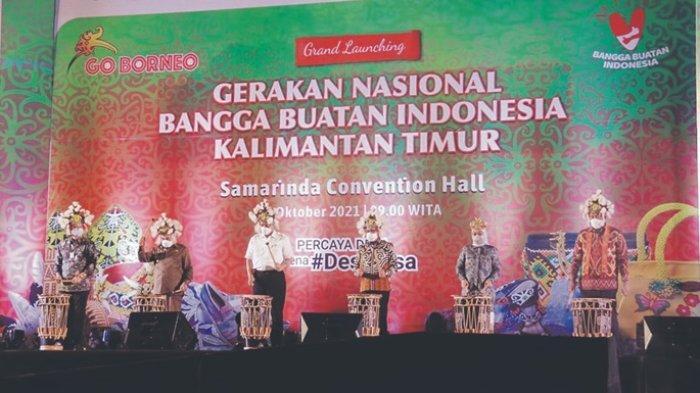 Gernas BBI Go Borneo 2021 Resmi Diluncurkan, Dukung 30 Juta UMKM Masuk Platform Digital pada 2024