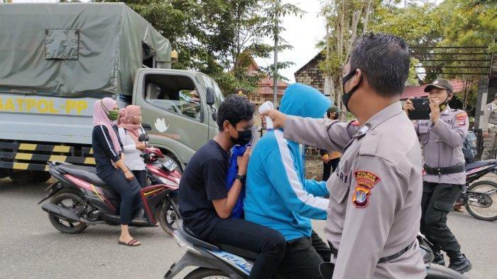 Razia dan Penegakan Prokes di Sesayap Hilir, Satgas Covid KTT Jaring 43 Pelanggar Dalam Sehari