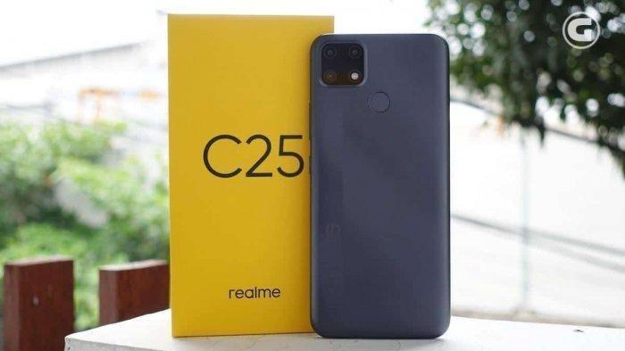 Dibekali Baterai Mega 6000 mAh dan Android 11, Ini Harga dan Spesifikasi Lengkapnya HP Realme C25