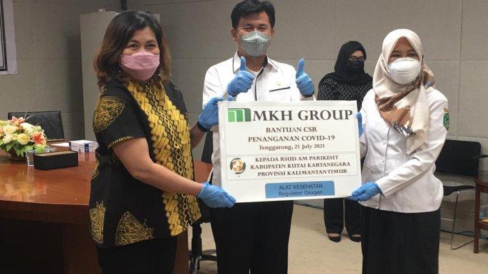 PT MKH Serahkan 50 Paket Regulator Oksigen ke RSUD AM Parikesit Tenggarong