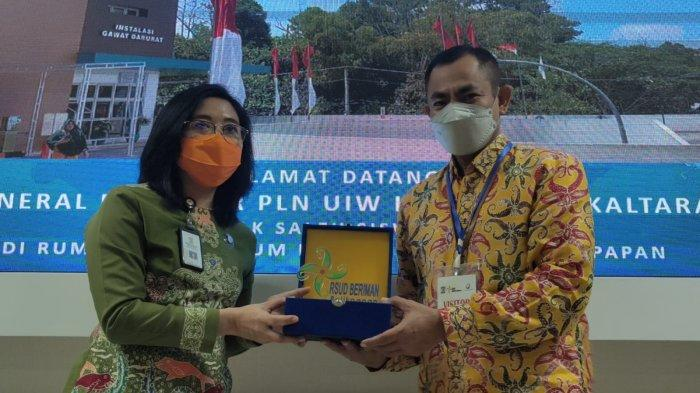 GM PLN UIW Kaltimra Saleh Siswanto melakukan kunjungan dan bersilaturahmi untuk memberikan apresiasi kepada pihak RSUD Beriman Balikpapan sebagai salah satu pelanggan PLN di Kaltim dan Kaltara.