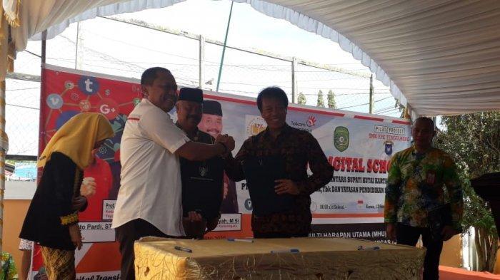 Sekolah Digital Diresmikan di SMK YPK Tenggarong Kutai Kartanegara, Berikut Harapan Ketua Yayasan