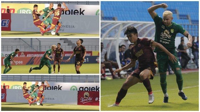 Hasil Akhir Persebaya vs PSM Makassar Liga 1 Skor 3-2, David da Silva Pakai Kostum Lawan Selebrasi