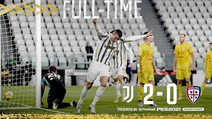 Top Skor Liga Italia 2020 - Ronaldo Geser Posisi Zlatan Ibrahimovic, Juventus Taklukkan Cagliari