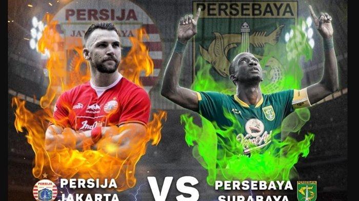 Live Final Piala Gubernur Jatim Persebaya vs Persija, Bonek Bersorak di Stadion, Jakmania Gigit Jari