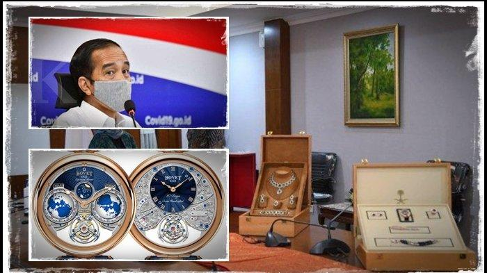 Gratifikasi Raja Salman ke Jokowi: dari Al Quran, Lukisan, Perhiasan hingga Jam Harga Rp 4,7 Miliar!