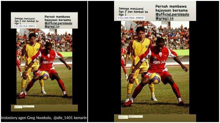 Update Liga 2, Bukan Klub Raffi Ahmad, Greg Nwokolo Pilih Persis Solo, Kaesang Bajak Winger Persela?