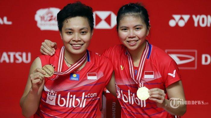 Greysia Polii/Apriyani Rahayu Cetak Kemenangan Indonesia, Hasil Bulutangkis Olimpiade Tokyo