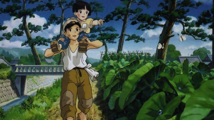 VIRAL di TikTok, Film Grave of the Fireflies yang Bikin Hampa Penonton, Ada Animasi Serupa