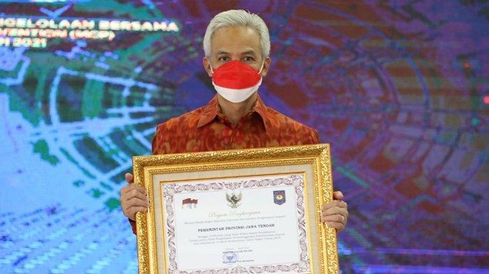 Pemprov Jateng Kembali Catatkan Prestasi, Raih Penghargaan TLHP Kemendagri
