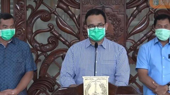 Virus Corona di Jakarta Tembus 1.071 Kasus, Anies Baswedan Larang Warga Kenakan Masker Medis