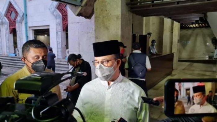 Anies Baswedan dan Pejabat Teras Pemrov DKI Jakarta Kompak Irit Bicara Ditanya Soal Formula E