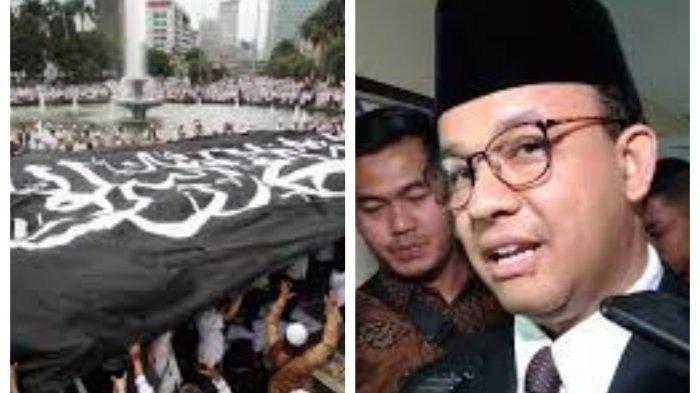 Anak Buah Anies Baswedan Masih Pikir-pikir Berikan Izin Reuni PA 212 di Monas, Doakan Rizieq Shihab