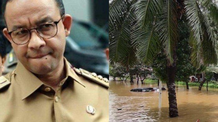 Klaim Sukses Atasi Banjir Jakarta Secara Cepat, Anies Baswedan Ajarkan Anak Buah tak Berbangga Diri