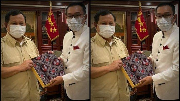 Terbaru Ridwan Kamil Temui Bos Gerindra, Sudah Ketemu 8 Ketum Parpol, Ada Megawati dan AHY