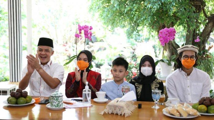 Gubernur Ganjar Gelar Open House Vitual, Sapa Warga Jawa Tengah di Tangerang hingga Amerika