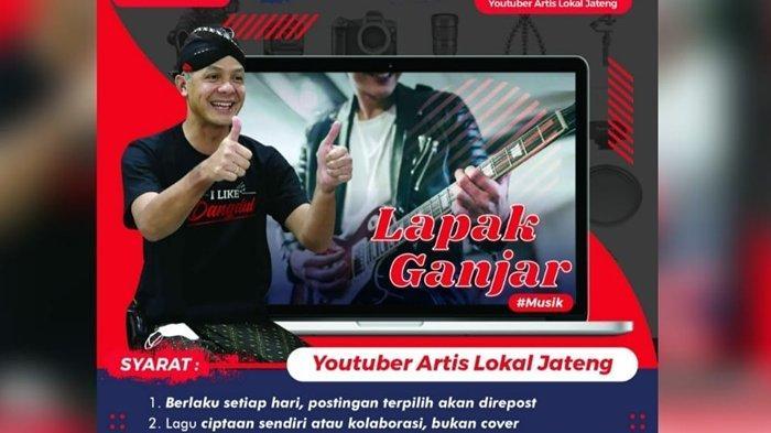 Gebrakan Baru Promosikan Karya Musisi Lokal, Gubernur Jateng Luncurkan Lapak Ganjar Musik