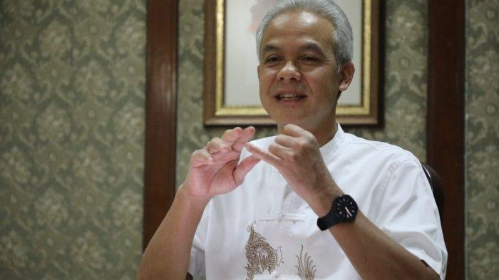 Gubernur Jateng Ganjar Pranowo Apresiasi Walikota Solo Copot Oknum Lurah Karena Lakukan Pungli